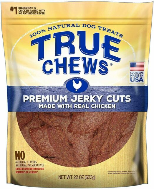 True Chews Premium Jerky  Real Chicken Natural Dog Treats 12 oz New Pack 2