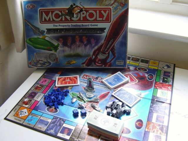 MONOPOLY THUNDERBIRDS Edition - including 6 collectable tokens!