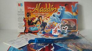 Jeu De Societe Disney S Aladdin Le Tapis Volant Mb 1992 Ebay