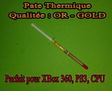 Pate Thermique OR - GOLD CPU INTEL, AMD, CPU , GPU , PS3 , XBOX 360