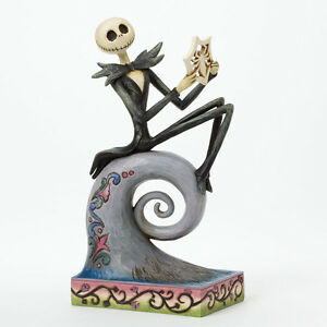 Jim Shore Nightmare Before Christmas ~ Jack Skellington Figurine ...