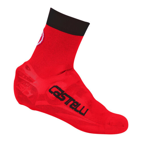 Castelli BELGIAN BOOTIE 5 Knit Shoe Covers Cycling Overshoes RED//BLACK One Pair