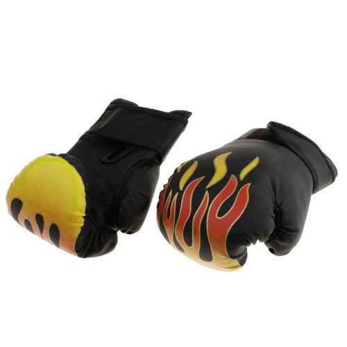 Atmungsaktive Boxhandschuhe Muay Thai Training PU Leder Sparring Punch Mitts