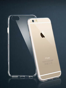 Clear-Apple-iPhone-6-4-7-or-6-PLUS-5-5-Flexible-Back-Case-Cover-Protector