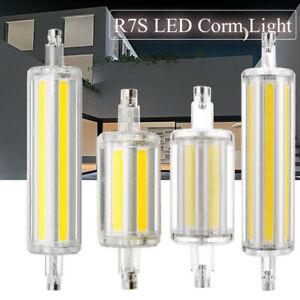 r7s led dimmable flood light j78 j118 78mm 118mm 10w 20w cob spotlight bulb lamp ebay