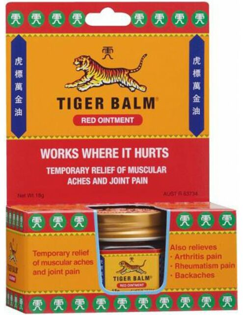 Tiger Balm Red Ointment 18gm