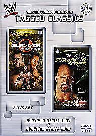 WWE - Survivor Series 1999/2000 (DVD, 2009, 2-Disc Set) Uk Region 2