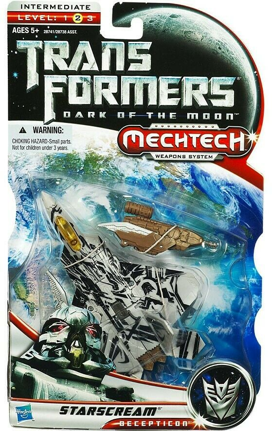 Transformers Dark of the Moon Mechtech estrellascream Deluxe azione cifra