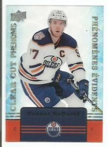 19-20-Connor-McDavid-Upper-Deck-Tim-Hortons-Clear-Cut-Phenoms-Edmonton-Oilers