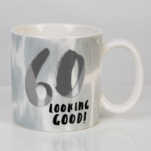 Image Is Loading Hotchpotch Luxury Ceramic Male Mug Silver And Grey