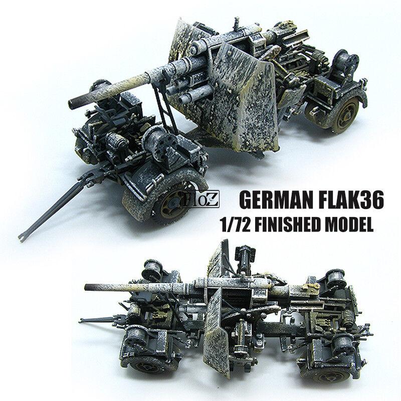 estilo clásico PMA PMA PMA Segunda Guerra Mundial German Flak 36 1 72 Flak modelo diecast acabado no  precios bajos
