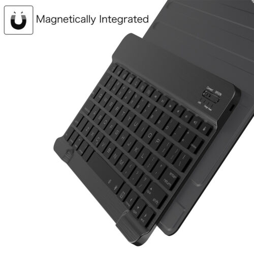 For Samsung Galaxy Tab A 10.5 T595 T590 Wireless Keyboard Case Smart Flip Cover