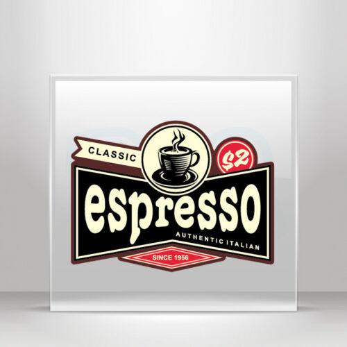 Decals Stickers Cafe bar espresso coffee shop store decoration  A19 3W884