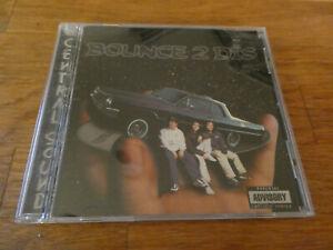 Central Style Sound Bounce 2 Dis CD Kut N Kru Dog City 1998 Rare **like new**