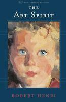 The Art Spirit By Robert Henri, (paperback), Basic Books , New, Free Shipping on sale