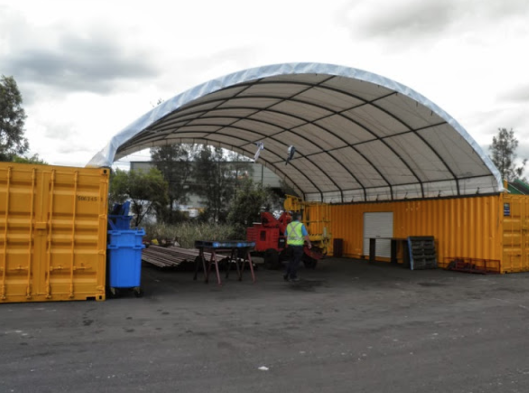 Container Canopy Shelter Storage Building Portable