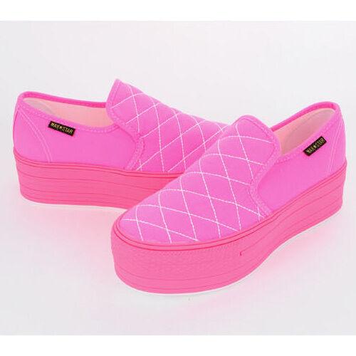 New Women's Crisscross Stitch Platform Sneakers Heel High Top shoes