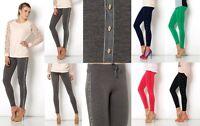 Leggings Trousers Pants New Womens Slim Fit Skinny Sweatpants J9035