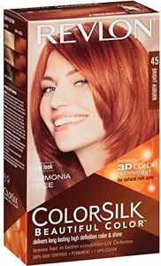 b40c727248d Image is loading Revlon-ColorSilk-Beautiful-Permanent-Hair-Color-45-Bright-