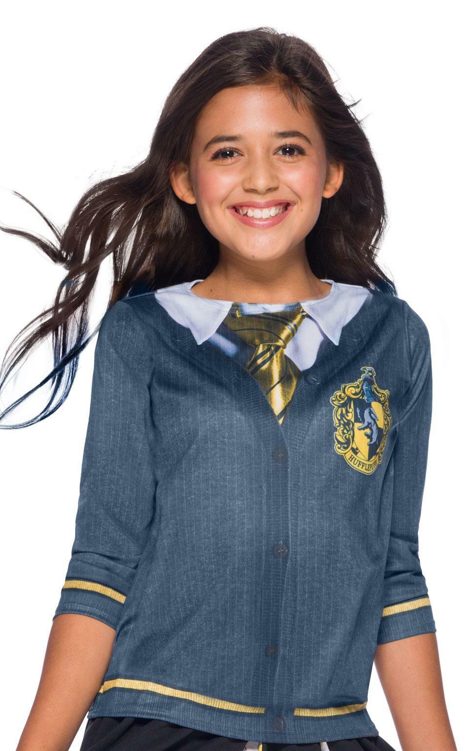 Child Harry Potter Hufflepuff Girls Costume Top