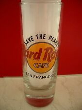 HRC Hard Rock Cafe San Francisco STP Save The Planet Shotglass Schnapsglas New
