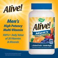Alive Men's Multi-vitamin, 200 Tablets