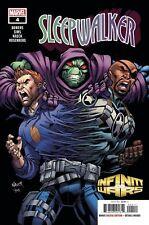 Sleepwalker #1 Infinity Wars Marvel Comic 1st Print 2018 UNREAD NM
