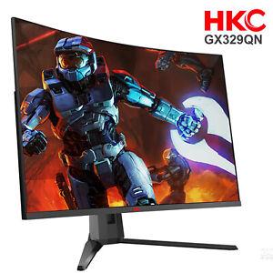 HKC-32-039-039-2K-WQHD-VA-144Hz-G-Sync-1500R-Curved-PC-Computer-Game-Gaming-Monitor-TV