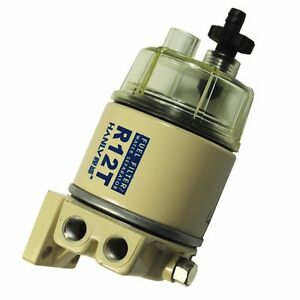 FUEL FILTER WATER SEPARATOR R12T FOR MARINE SPIN-ON 120AT NEW