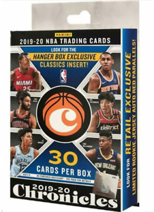2019-20-PANINI-CHRONICLES-NBA-BASKETBALL-HANGER-BOX-SEALED-ZION-JA-MORANT