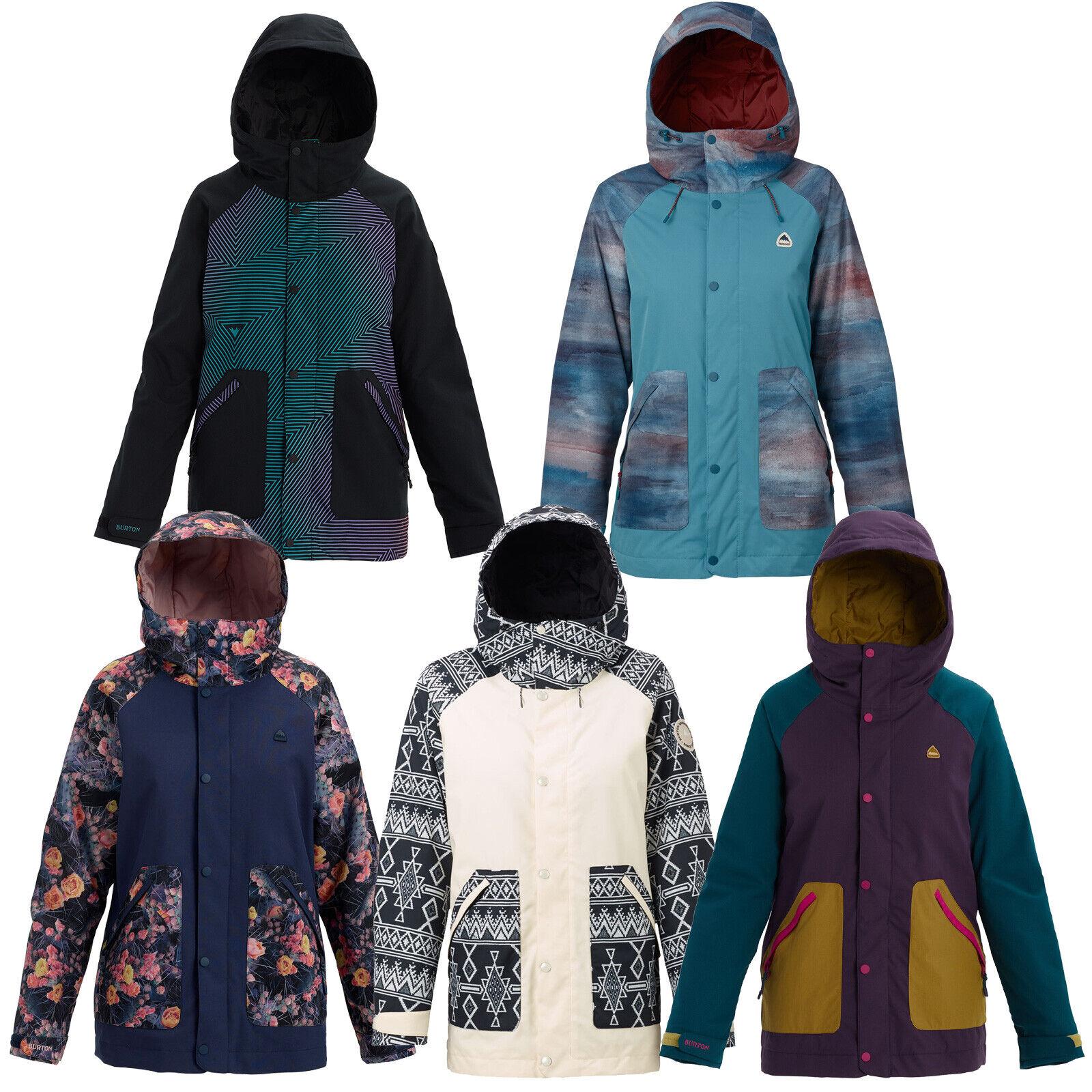 Burton Jaded Sedona Larkspur Eastfall Womens Snowboarding Jacket M For Sale Online Ebay