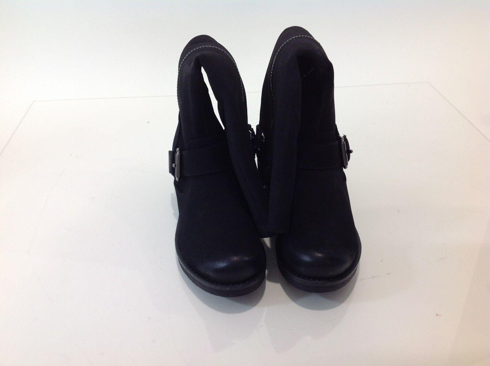 White Mountain Womens Blackbird Boots Black Size 6M