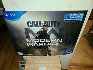 Gamestop Call Of Duty Modern Warfare Promo Poster 36 26 Rare Ebay