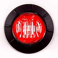 """Maxxima 3/4"""" Red Combination Clearance Marker Light"""