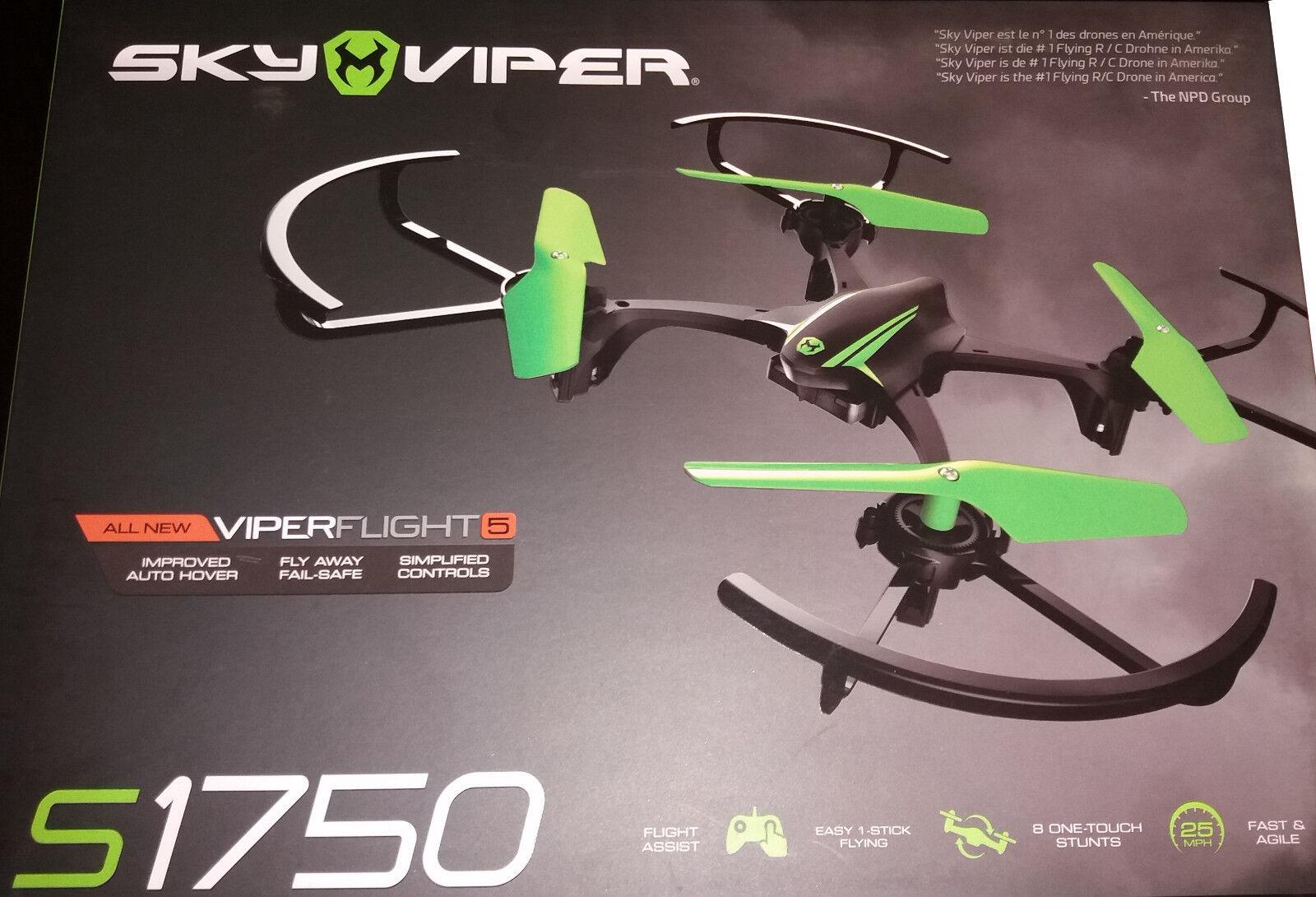 Goliath RC Sky Viper Quadrocopter Stunt Drone S 1750 1750 1750 90289 30d5b0