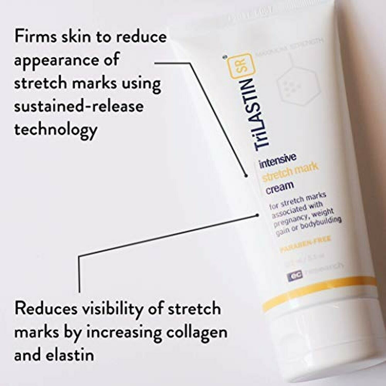 Trilastin Sr Maximum Strength Stretch Mark Cream Unscented 160ml