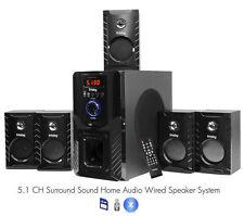 Spectrum 7.1 Home Theater Speaker System Sound Bar W/surround | eBay