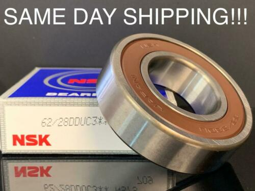 NSK 62//28DDU SINGLE ROW BALL BEARING 28*58*16mm SAME DAY USA  SHIPPING !!!