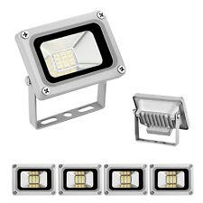 4x 10W Flood Light LED 12V Spot Light Cool White Floodlight Outdoor Garden Lamp