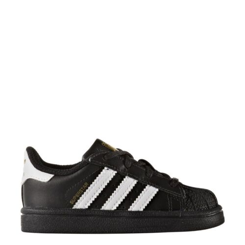 Adidas Superstar Infant BB9078 Black//White New Infant shoes
