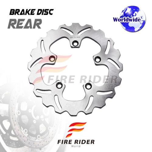 FRW 1x Rear Brake Disc Rotor For YAMAHA FZ6 600 04-09 04 05 06 07 08 09