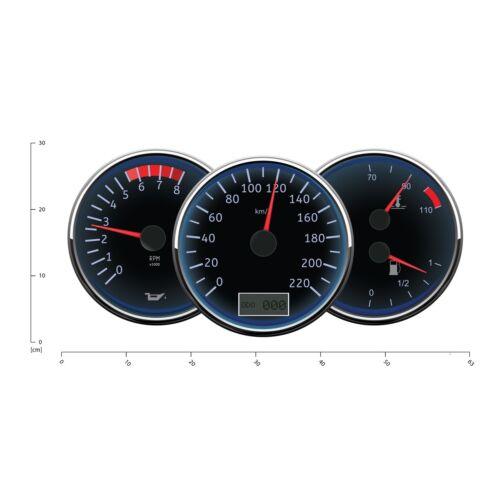 Speedometer Speedo Wall Decal Sticker WS-41210
