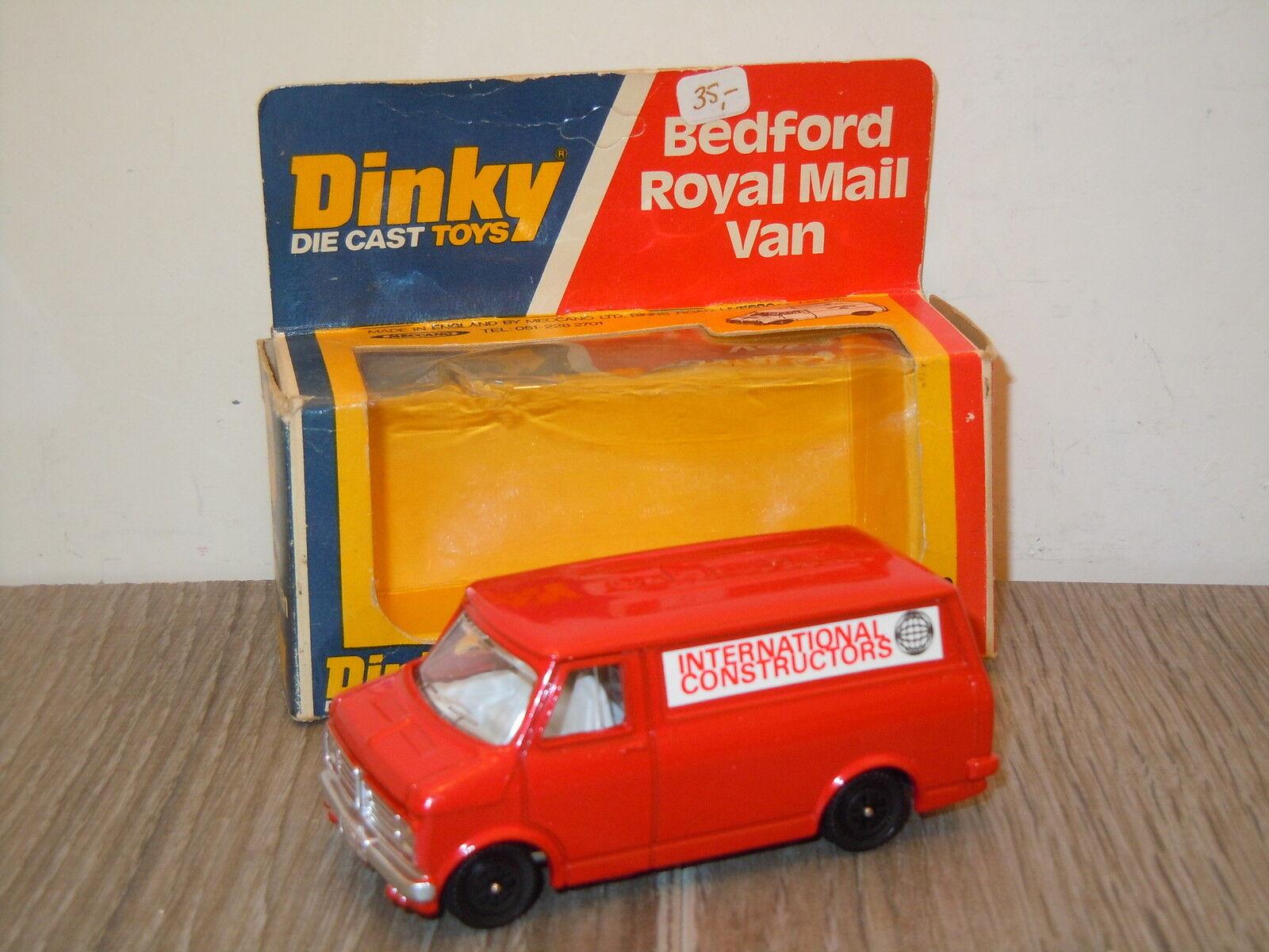Bedford International Constructors VAN DINKY TOYS code 2  John Gay dans Box  15711  vente de renommée mondiale en ligne