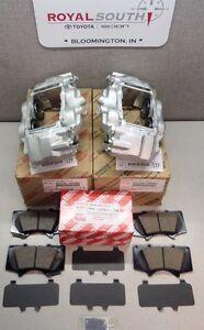 Toyota Tacoma 2005 - 2020 Front Brake Caliper & Pad Set Genuine OE OEM