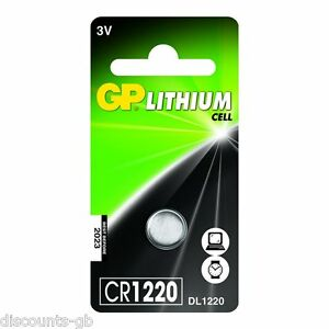 GP-CR1220-3V-Lithium-Battery-DL-Pack-of-1-Car-Remote-Bell-Wireless