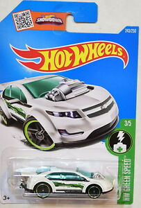 Super Volt Weiß Hot Wheels 2016 Hw Grün Speed Autos, Lkw & Busse