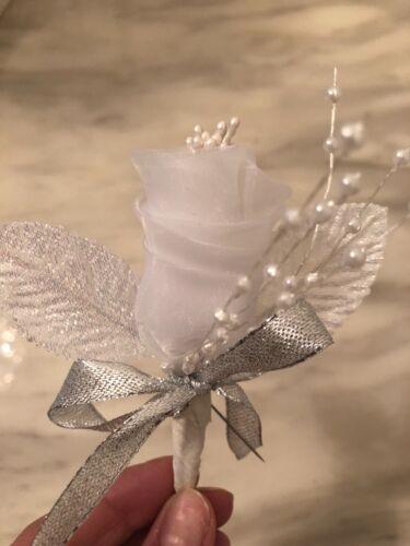 boutonniere corsage groom-best man-men