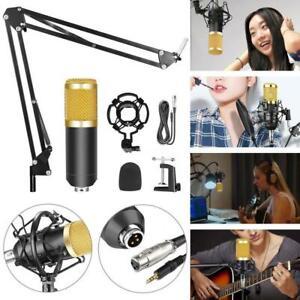 BM800-Condenser-Microphone-Kit-Live-Studio-Sound-Recording-Mount-Boom-Stand-O0R4