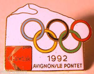 Anciens-PIN-039-S-JEUX-OLYMPIQUES-KODAK-1992-AVIGNON-LE-PONTET-COJO-1991