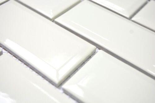 Metro Subway Mosaik Fliese Keramik elefenbein Brick Wand WB26-0119IM/_b1Matte